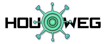 HOUCORONAWEG logo ZWART